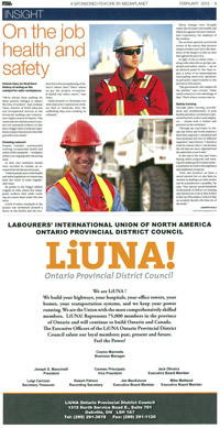 LiUNA magazine Article